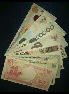 Paket mahar uang kertas