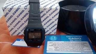 Casio F 91W Original Fullset