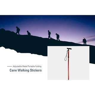 Foldable Trekking Hitch Camping Walking Stick