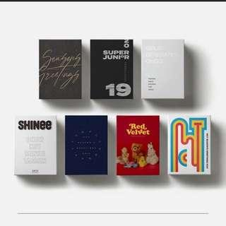 [PRE ORDER]SM ARTIST SEASON'S GREETINGS 2019