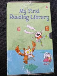 Usborne: My first reading books
