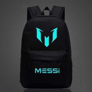 🚚 Glow in the dark backpack - Messi