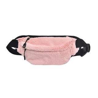FLUFFY WAIST BAG