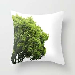🚚 SAVE OUR TREES - Crown Throw Pillow Cushion Cover