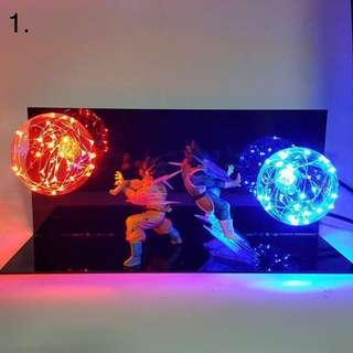 🚚 Dragon Ball LED light lamps!