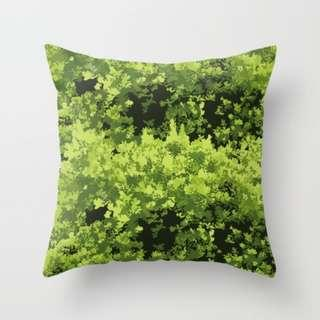 🚚 Save Our TREES (Misty) Throw Pillow Cushion Cover