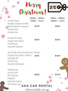 98000933 - CHRISTMAS 2018 PACKAGE NO DEPOSIT CALL NOW