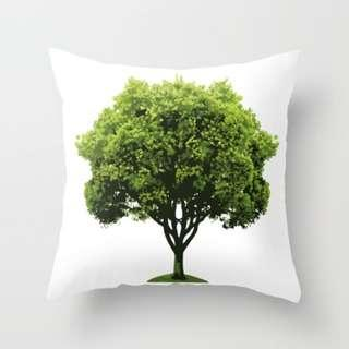 🚚 Save Our Trees! Full Tree Throw Pillow Cushion Cover
