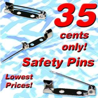 Safety Pin (Unique Design) *2019 Clearance Sale! Lowest Discount Prices! Less than 50 cents now!*