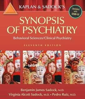 Kaplan and Sadock - Synopsis of Psychiatry – Behavioral Sciences - Clinical Psychiatry, 11E, 2015