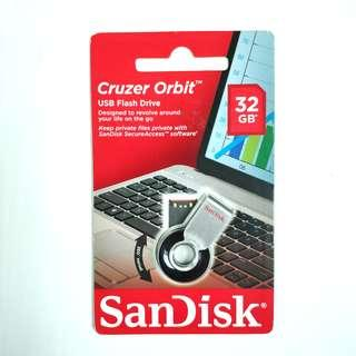 全新行貨 SanDisk 32GB Cruzer Orbit USB Flash Drive USB手指