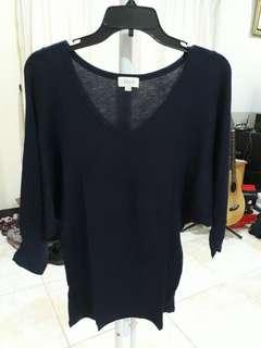 Navy Blouse SEED