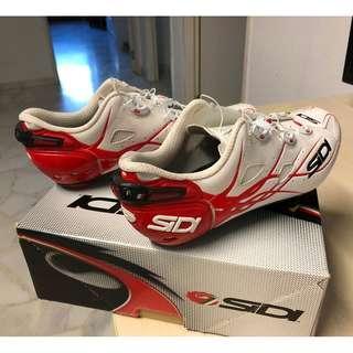 Sidi Shot Carbon Cycling shoes (EU41/UK6) white /Red