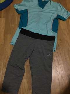 Sports clothing set