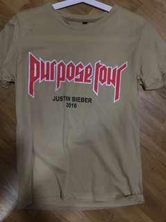 JB purpose tour shirt