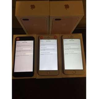 iPhone7 Plus 128gb & 256gb Red and Rosegold & Matte Black