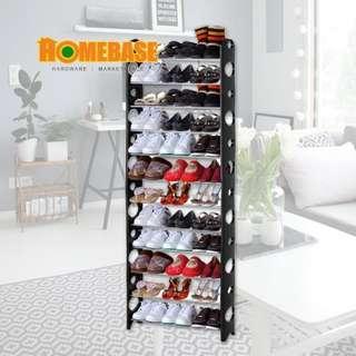 Homebase 8 Tier Shoe Rack Shoe Storage