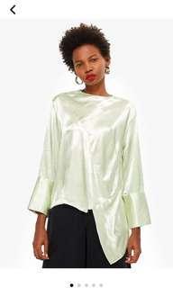 TOPSHOP satin blouse