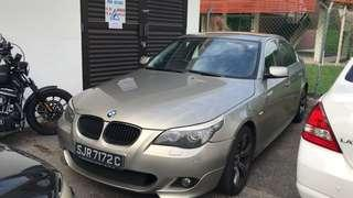 BMW 5 Series for rent
