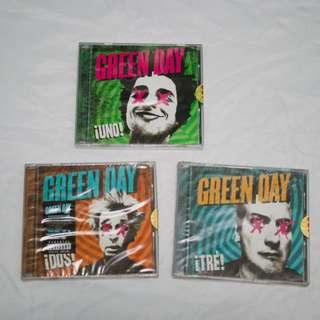 NEW Green Day ¡Uno! ¡Dos! ¡Tré!