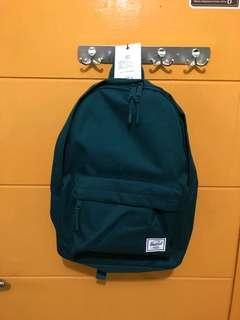 Tas Herschel Classic Backpack Hijau Tua