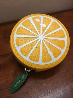 Mary Kay Orange Coin Purse #OCT10