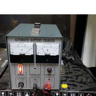 (二手充電器) 固也泰 CH1024 24V 4A電瓶自動充電機 微電腦全自動電池充電機.電池充電器