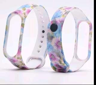 Flower pattern strap for Miband 3