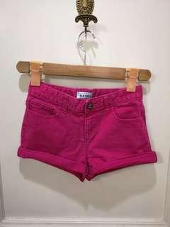 Old navy shorts for girls