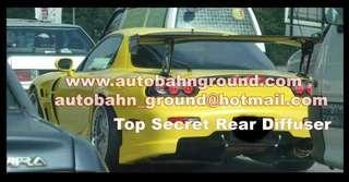 Top Secret Universal Rear Diffuser