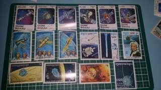 太空 郵票