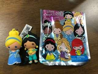 Disney Princess Figural Keyring Cinderella Jasmine
