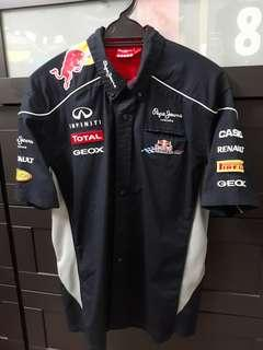 2013 Pepe Jeans London Official F1 Redbull Racing Team Shirt