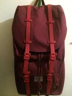 Hershel red backpack