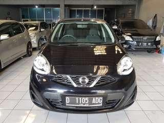 Nissan March 2015 matic 1.2 hitam