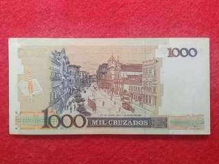 1000 uang ading brazil
