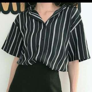 Striped Shirt (blouse/button)