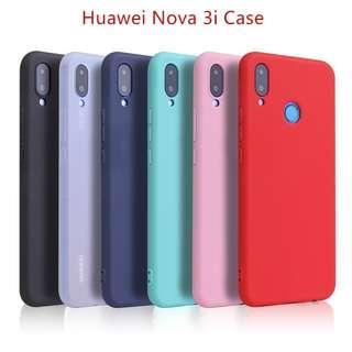 Ultra Thin Matte TPU Casing Huawei Nova 3i