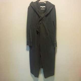 initial army long coat