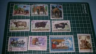 老撾 Magyar posta 郵票