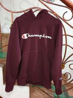 Hoodie champion maroon like new