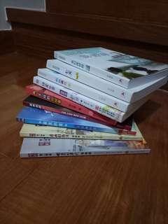 Chinese novels and comic books
