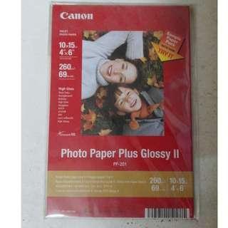 Canon 相紙(明信片尺寸) 10張