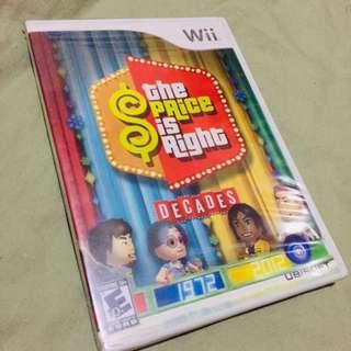 NEW Wii The Price Is Right Game
