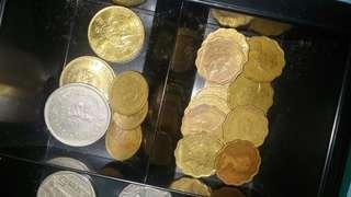 女皇頭硬幣