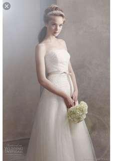 Vera wang white by vera wang wedding gown wedding dress prewedding 輕婚紗