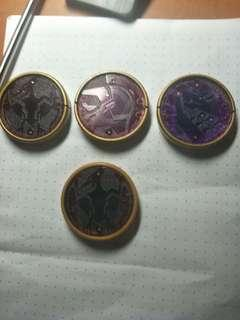 Kamen Rider OOO Putotyra Medal Set (Non DX)