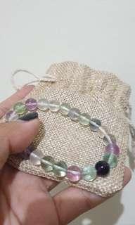 Flourite Crystal Bracelet