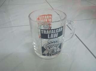 Trafalgar Law pirates of heart one piece glass