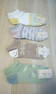 購自日本 船襪  Socks bought from Japan